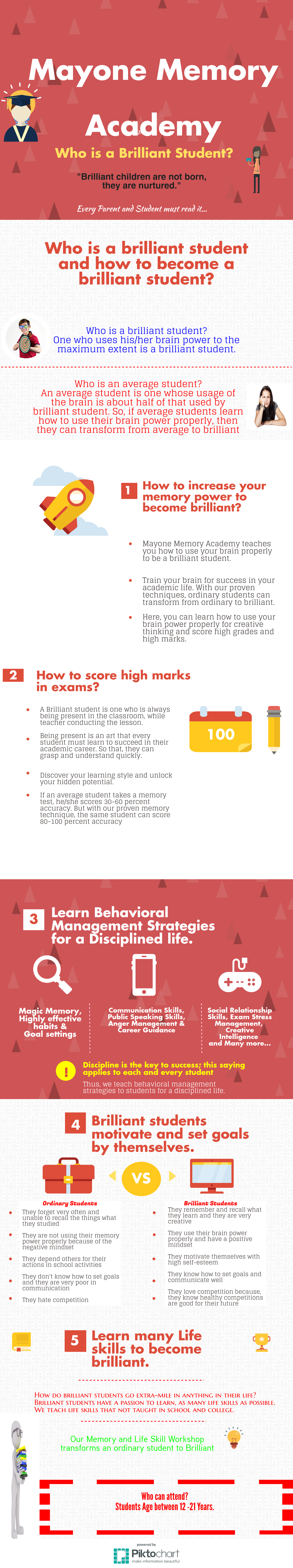 memory strategies for students Did you know you can actually train your brain to retain information better see the 7 reasons why you have trouble remembering what you learn and 15 memory improvement strategies that will help increase your retention.