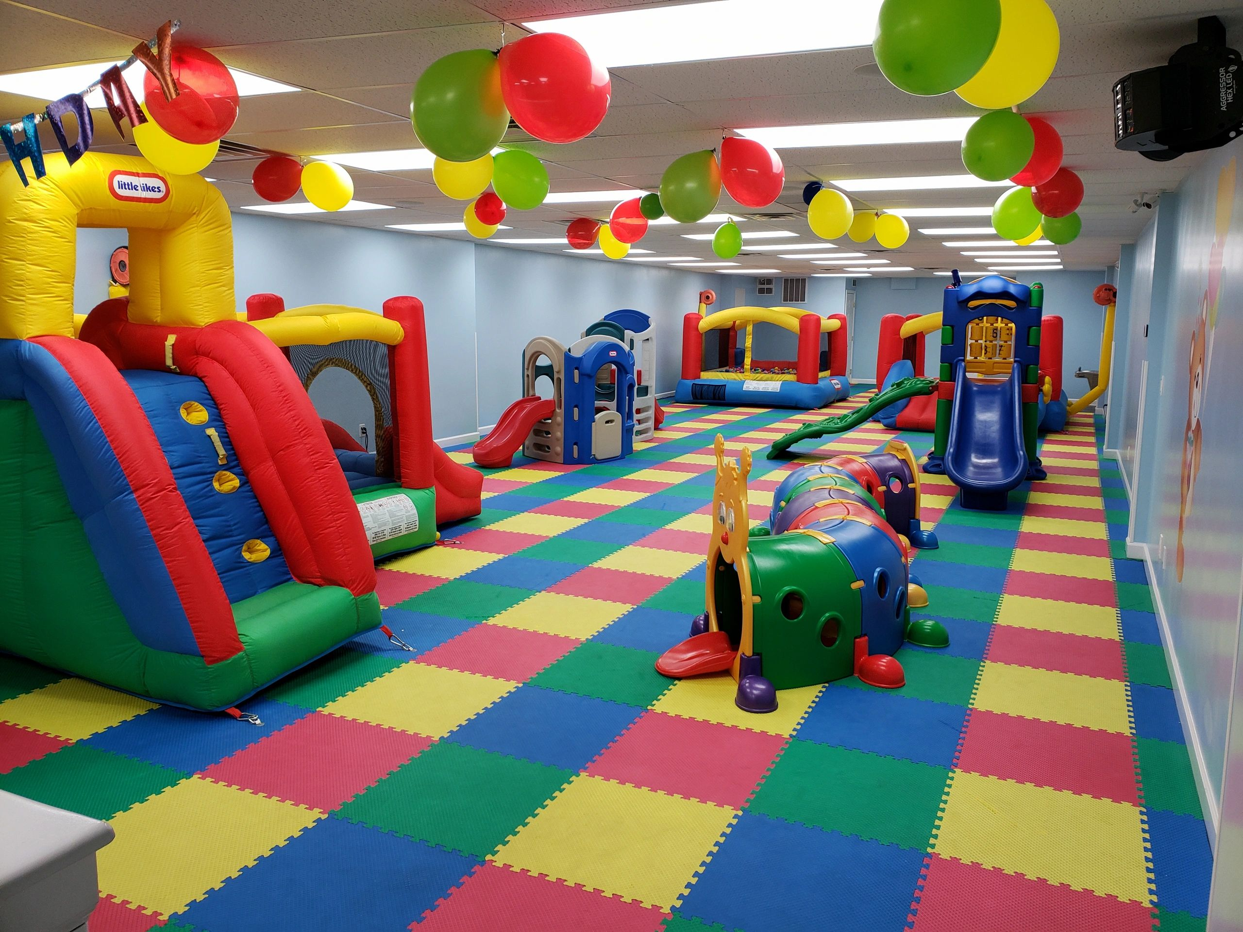 Kids Birthday Party Tots Land Private Playground