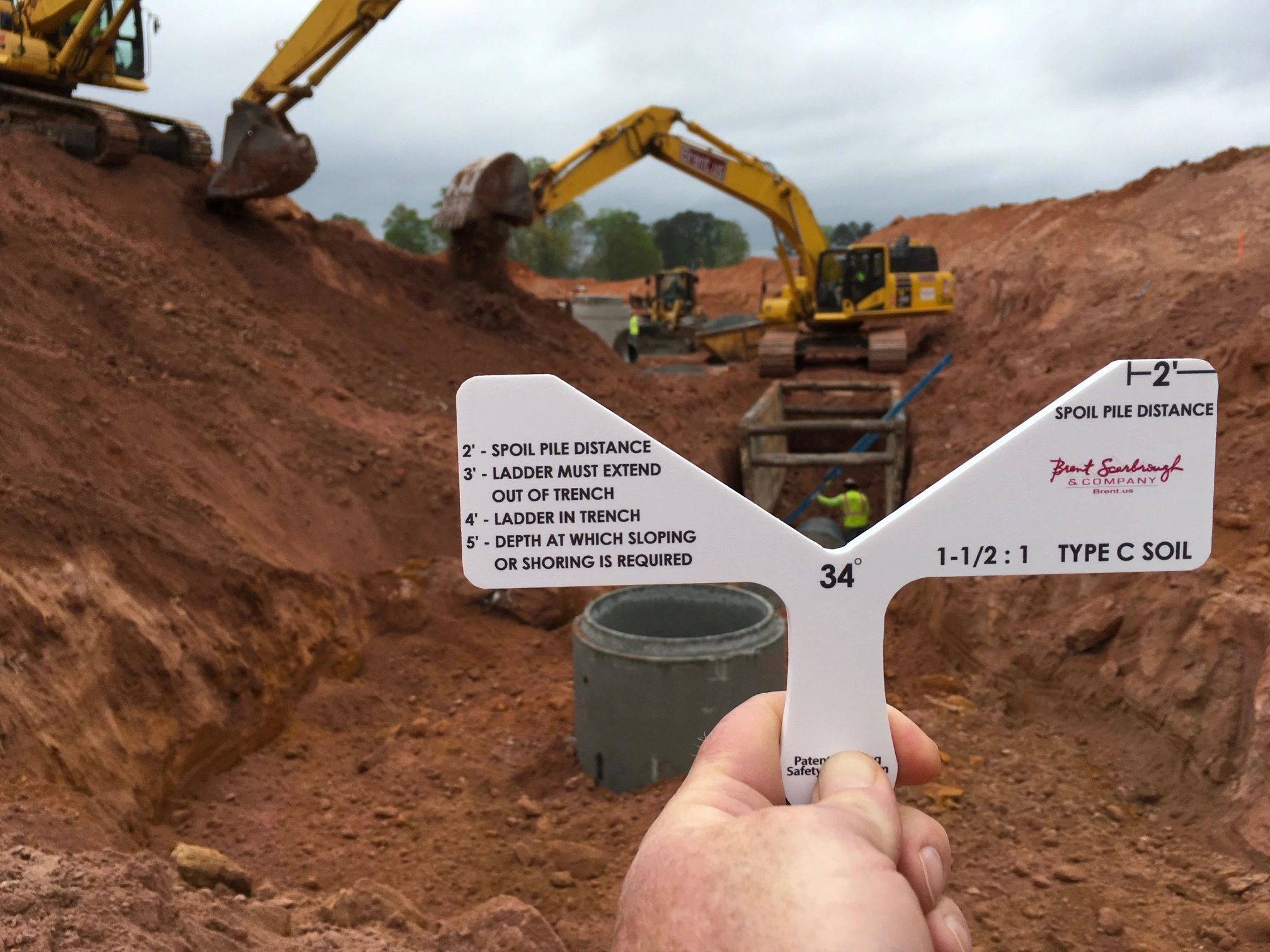 Trench Slope Tool Safety Patriot