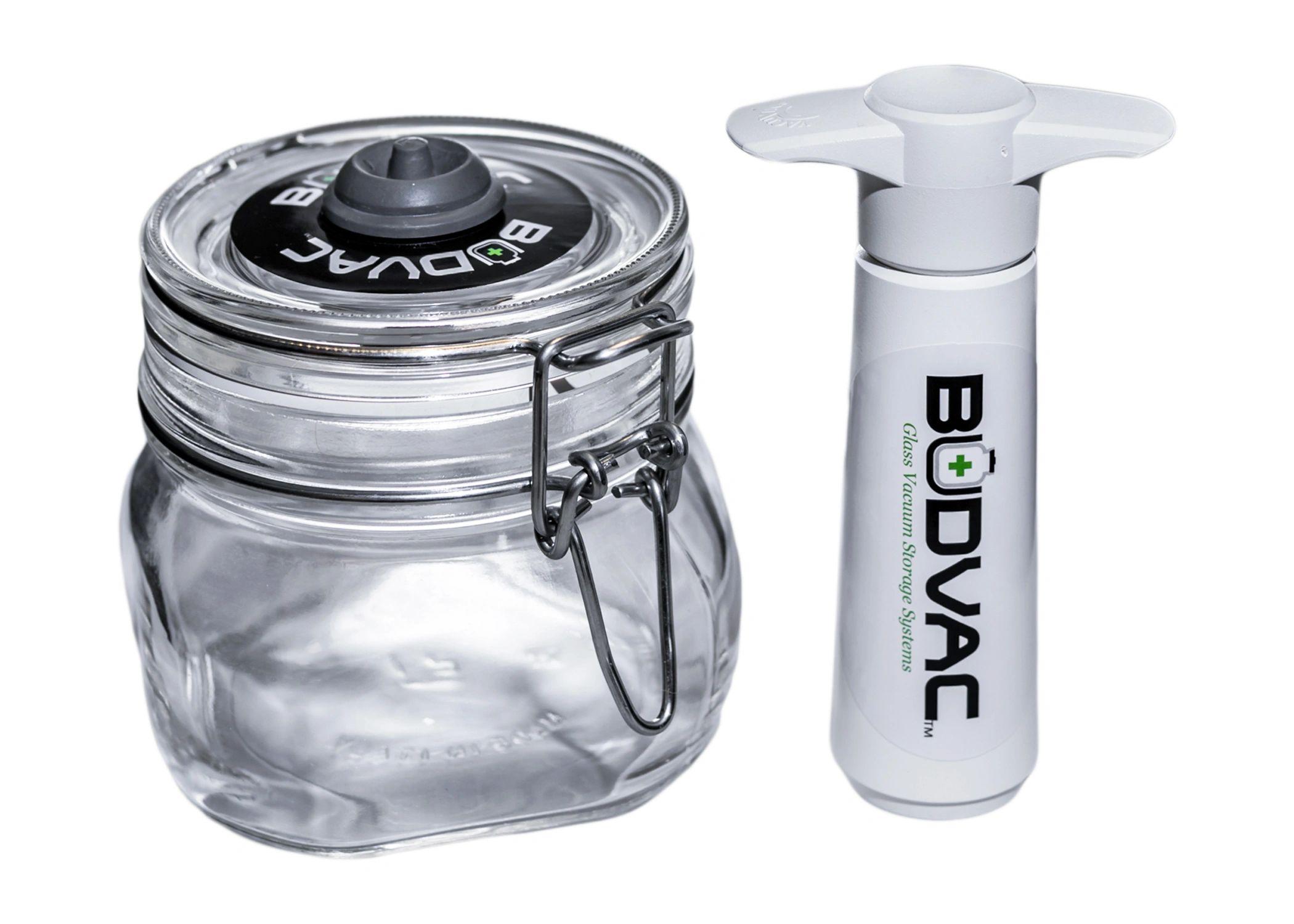 Glass Vacuum Storage Container   BUDVAC