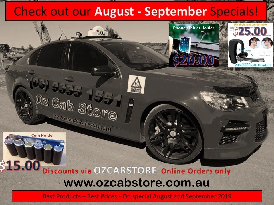 Taxi Products - OZCABSTORE