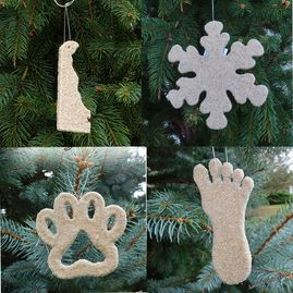 Sandy Delaware ornaments