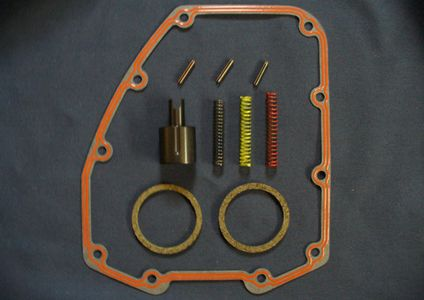 Harley-Davidson Twin Cam oil pressure relief valve spring kit from E.R.T. Products.