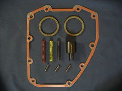 Harley Twin Cam oil pressure relief spring kit with gaskets