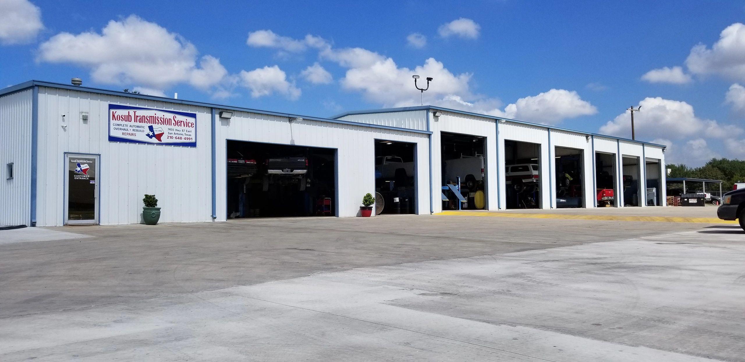 Gerald Kosub Transmission Service Inc Of San Antonio Texas