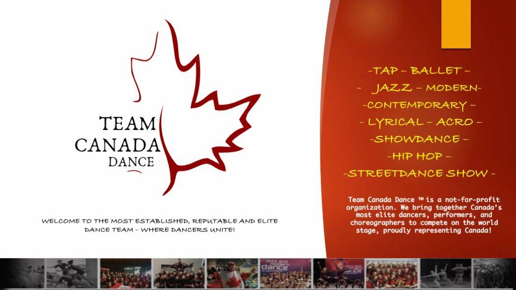Team Canada Dance - Home
