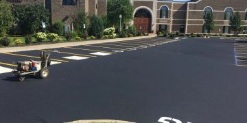 Parking Lot Repair, Parking Lot Sealcoating in Rochester NY