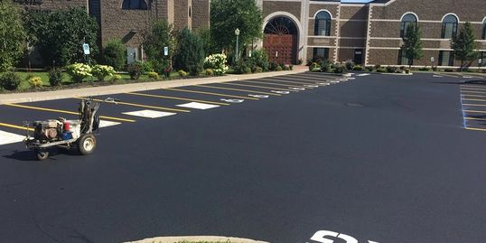 Parking Lot Repair and Pavement Markings in Rochester NY