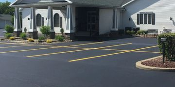 Parking Lot Maintenance and Parking Lot Repair in Rochester NY