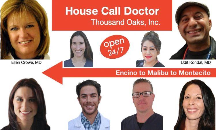 Medical Team - House Call Doctor Thousand Oaks, Inc  | House Call