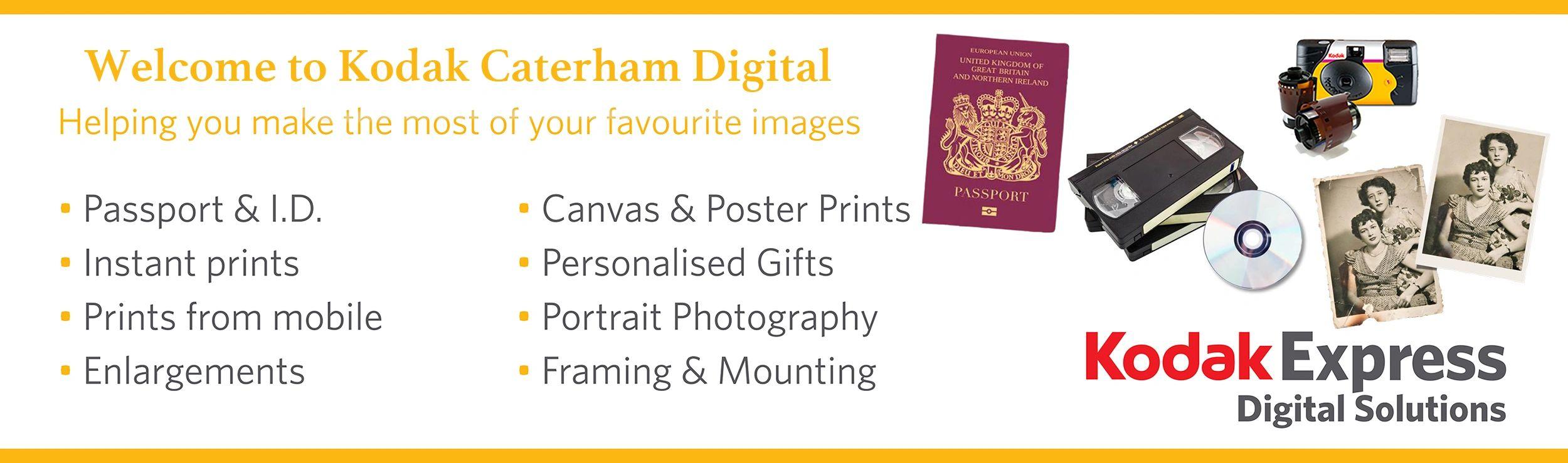 Kodak Caterham Digital - Photography Shop, Photo Printing