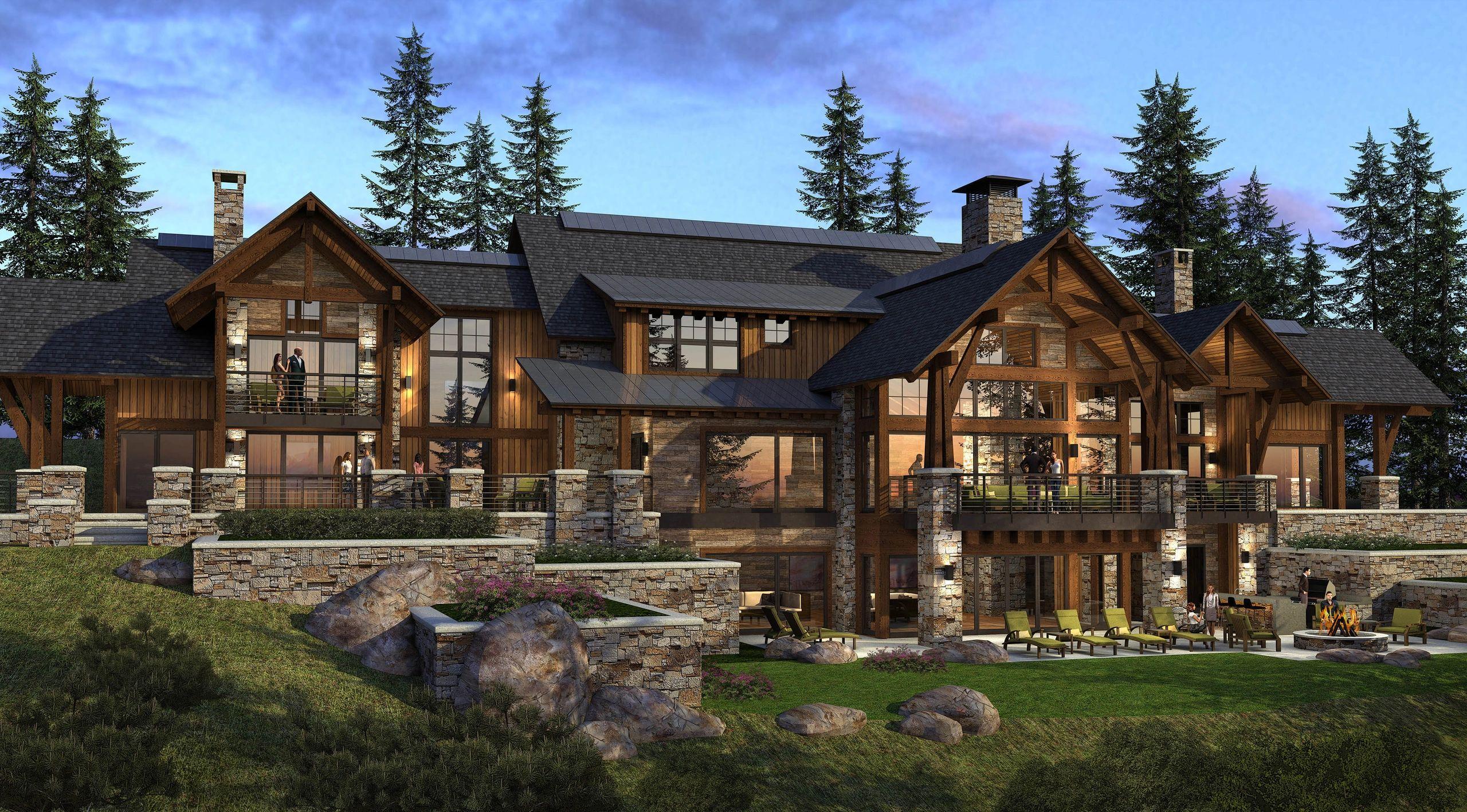 Utah Custom Home Plans: Brent Chamberlain Design