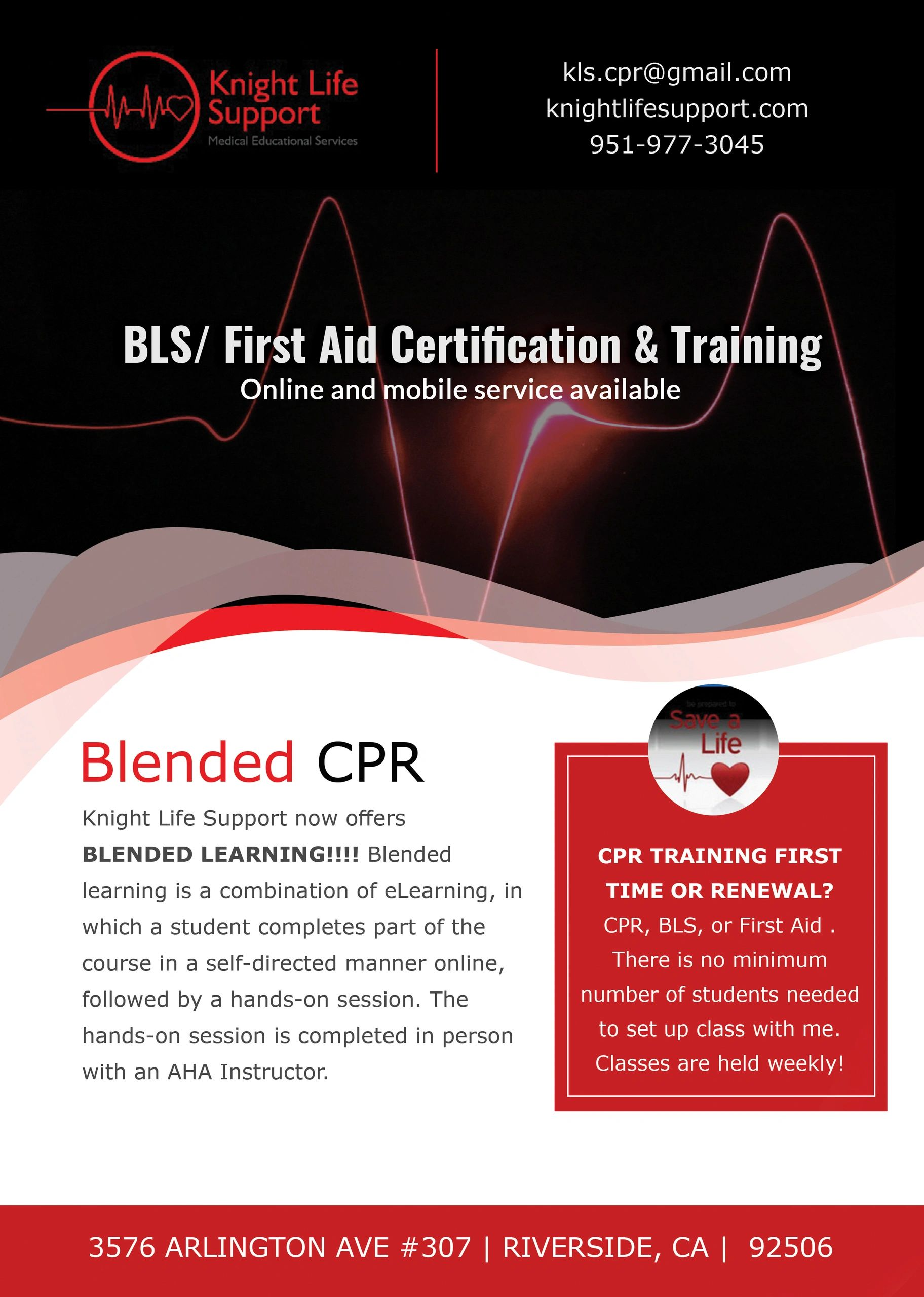 Knight Life Support Cpr Certification First Aid