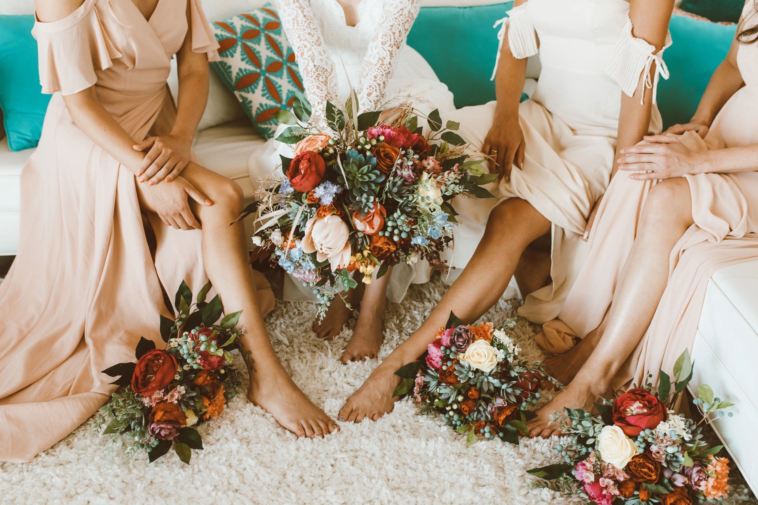 Welcome The Faux Bouquets