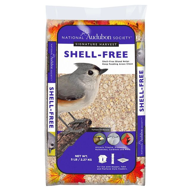 Shell-Free Blend Helps Keep Feeding Area Clean