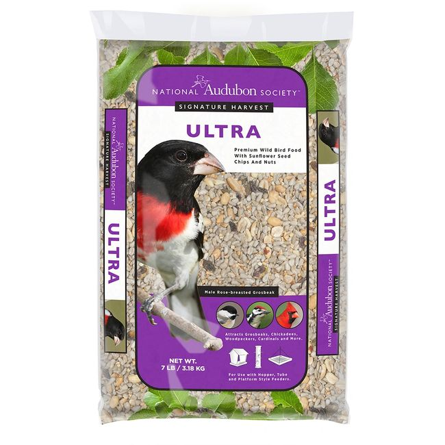 National Audubon Society Signature Harvest Ultra Premium Wild Bird Food