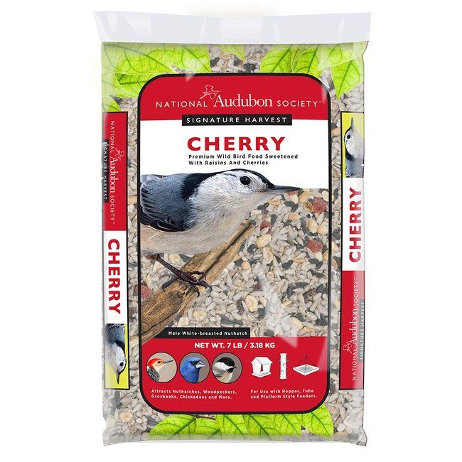 Premium Wild Bird Food Sweetened with Raisins and Cherries