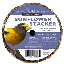 National Audubon Society Signature Harvest Sunflower Stacker for Wild Birds
