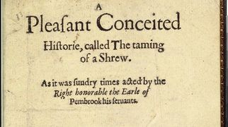 1594 title page of A Shrew