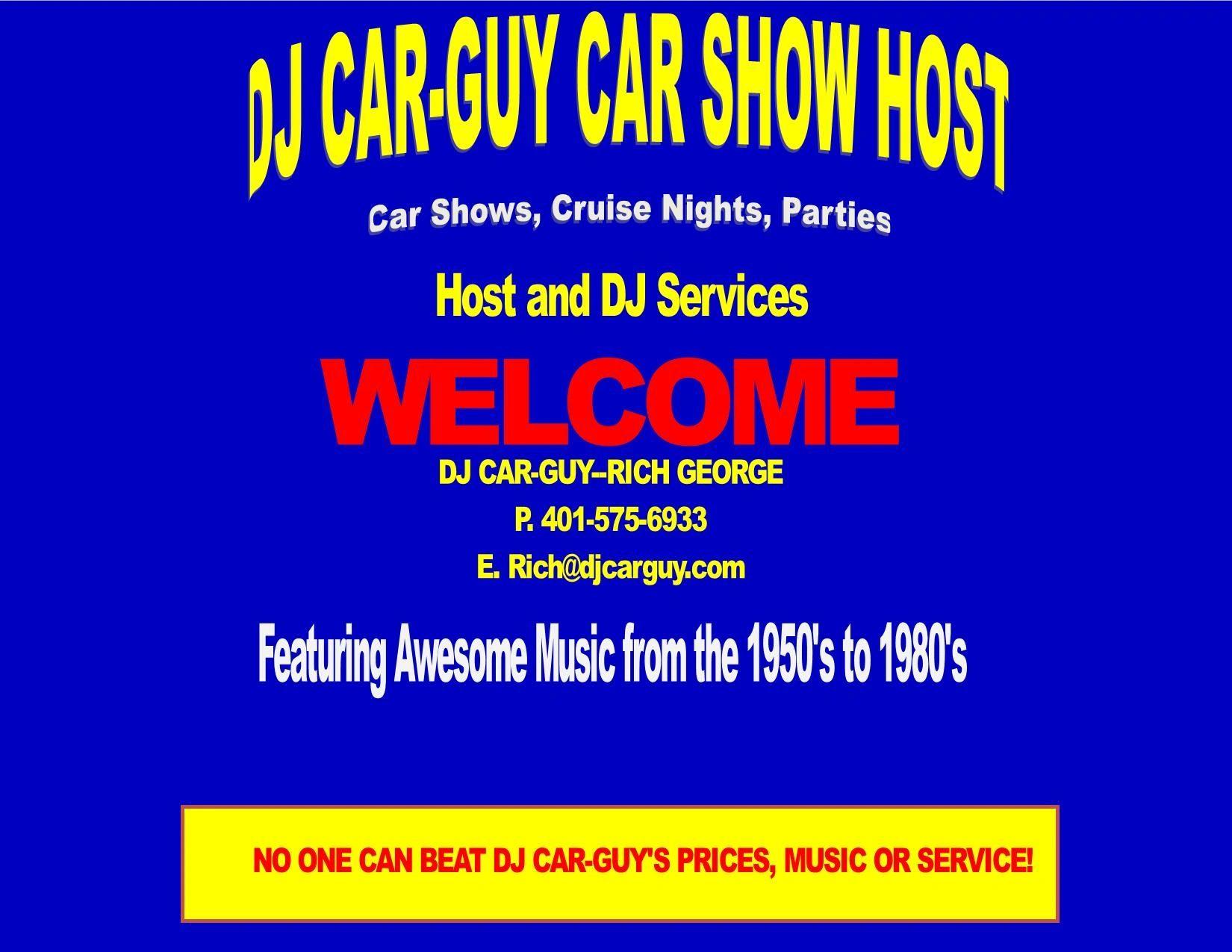 FLYERS 2 | DJ Car-Guy Productions, LLC