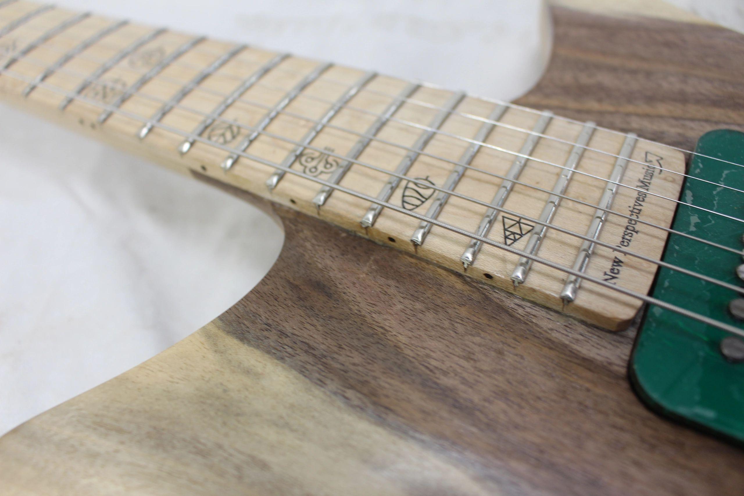 New Perspectives Music Guitar Reclaimed Bass Guitar