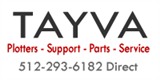 TAYVA HP designjet 800PS Plotter Parts and Service