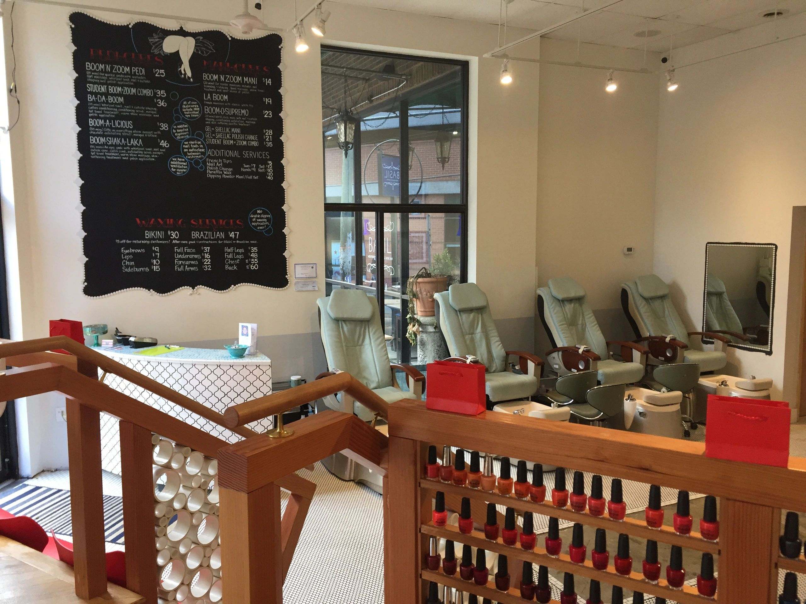 Boom Boom Nail and Waxing Lounge in Charlottesville, Virginia