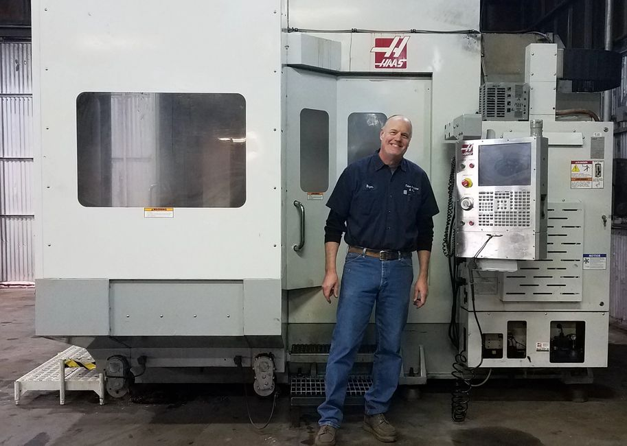 We are excited about the acquisition of a Haas EC-1600 large capacity, 4-axis horizontal machining c