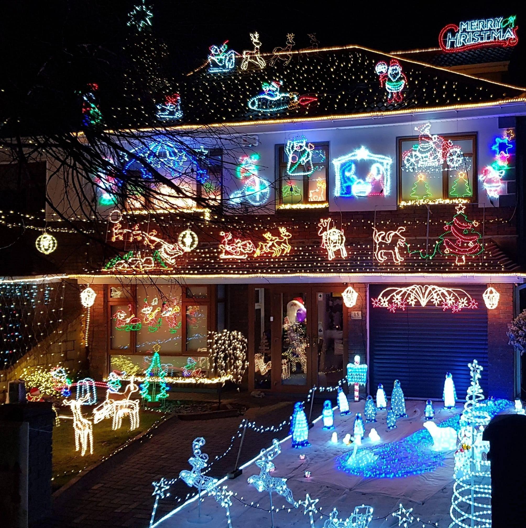 House Of Christmas Lights Lucan Dublin