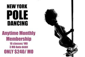 Pole dance, membership, member, package, pole class, pole instruction, fitness class