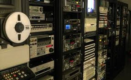 Videotape Editing Bay  for Broadcast