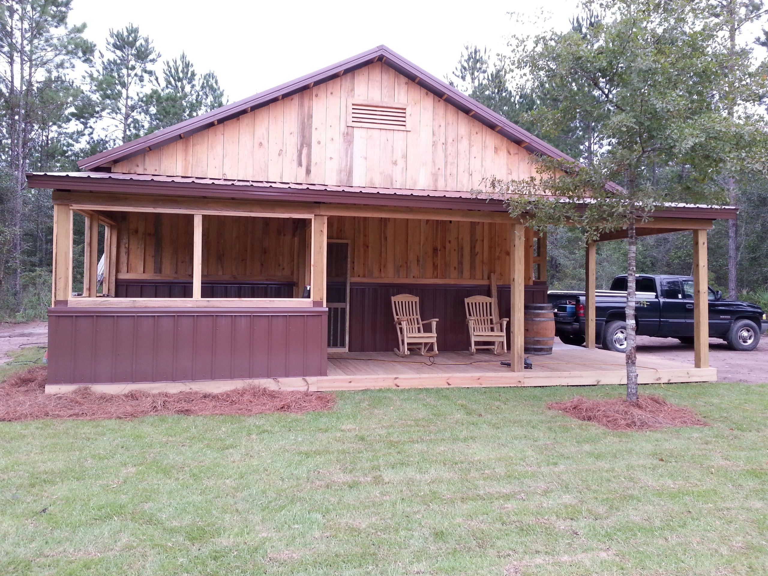 East Georgia Pole Barns Home