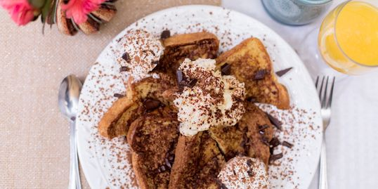 Tiramisu French Toast