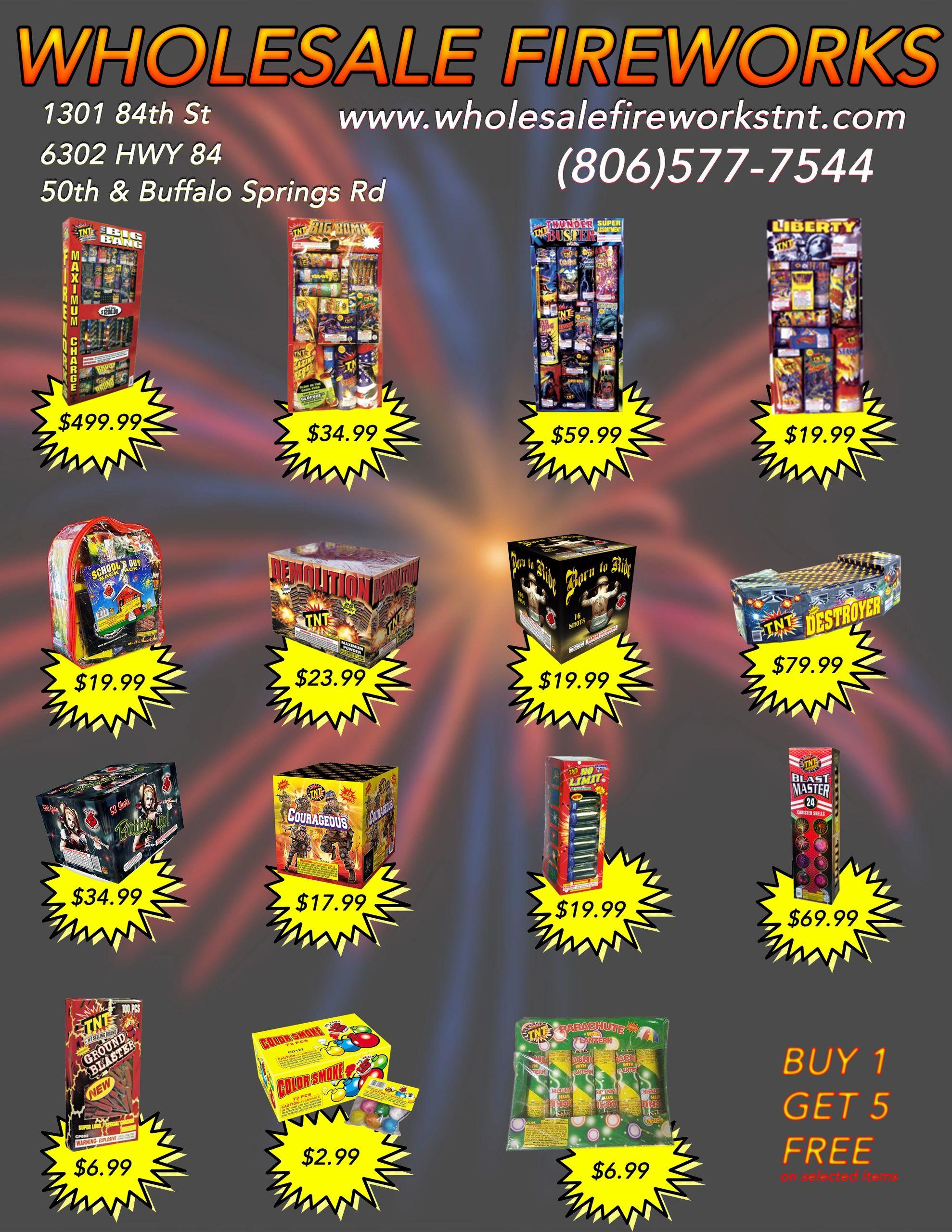 Wholesale Fireworks TNT - Fireworks, Tnt