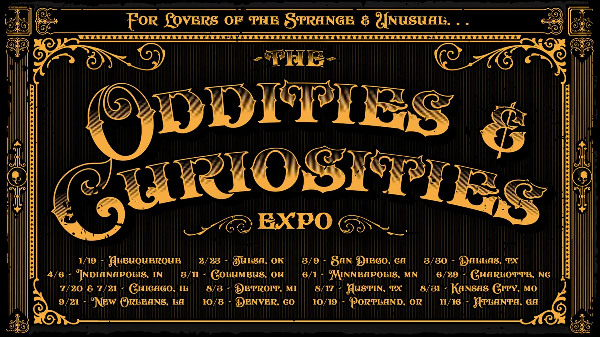Oddities & Curiosities Expo