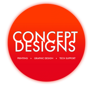 Concept Designs: Graphic & Web Design, Printing & Tech Support