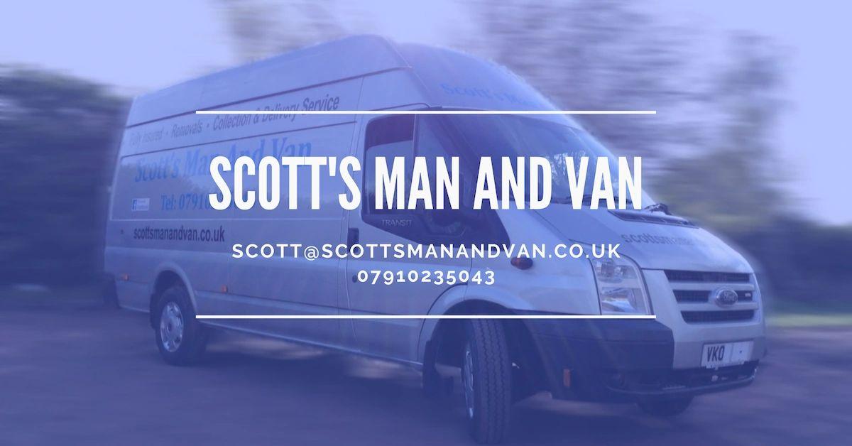 Man With A Van >> Scott S Man And Van Home