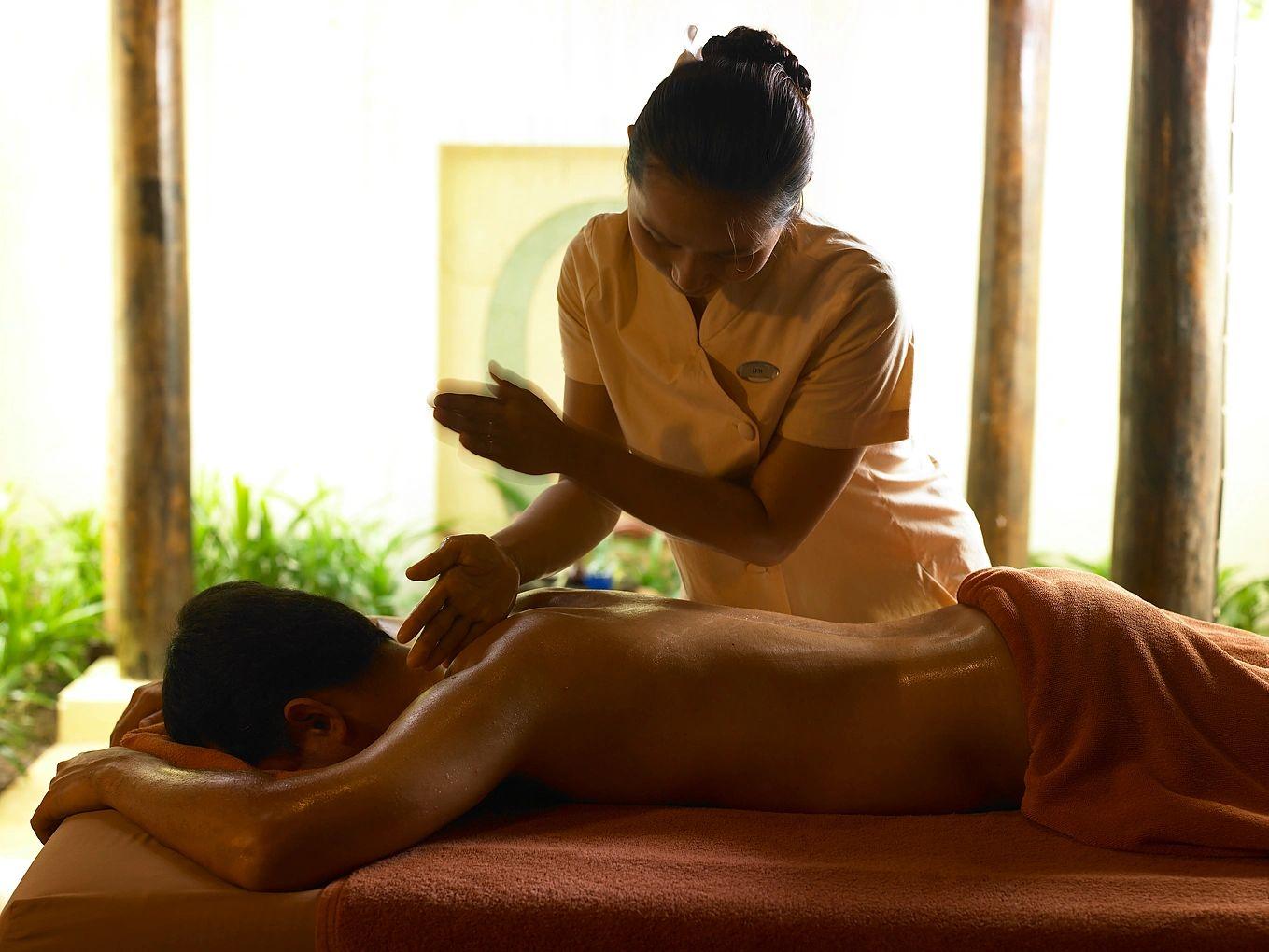 Gitta my first massage experience
