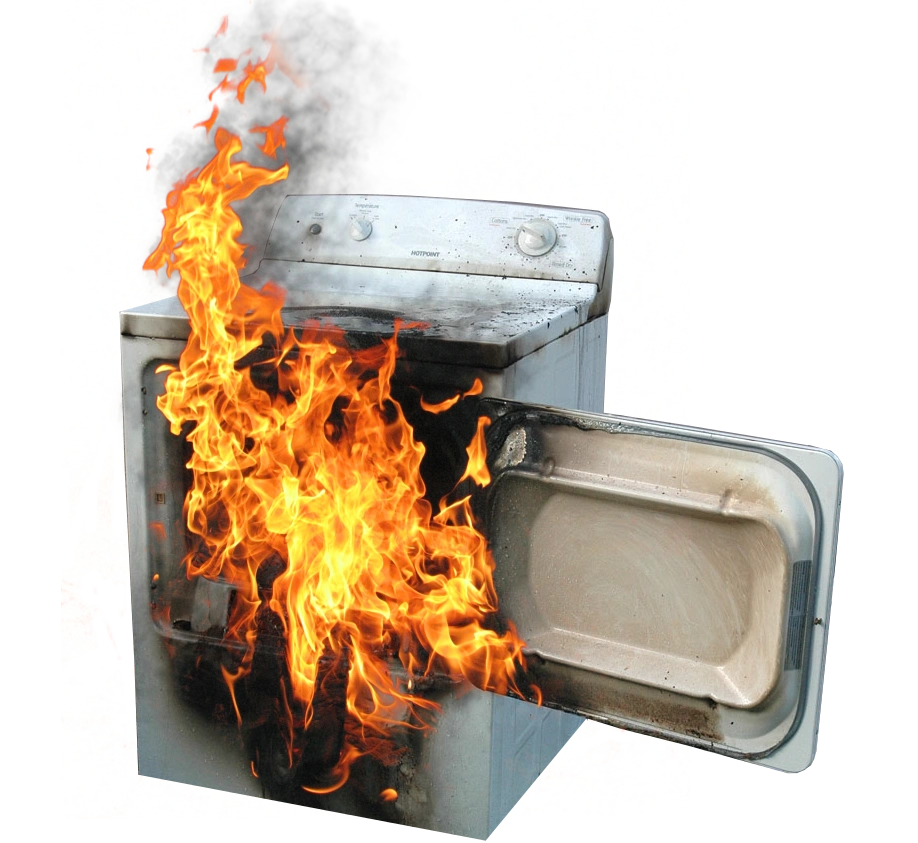 dryer lint fires Blog in the news  report on house fires shows that  more efficient venting by your dryer it's important to remove the lint from the filter after every.