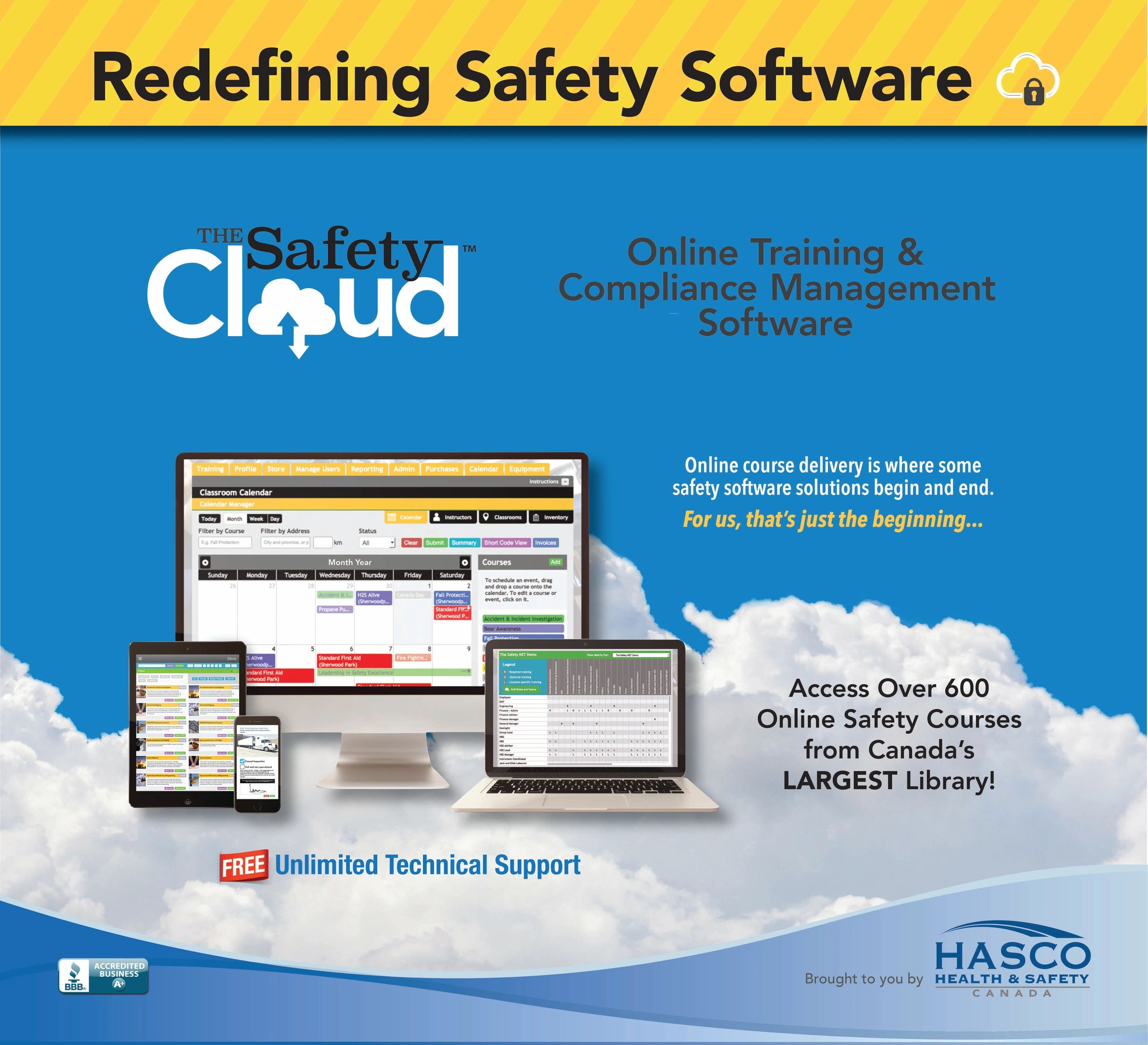 Online Health and Safety Training - Learning Management System