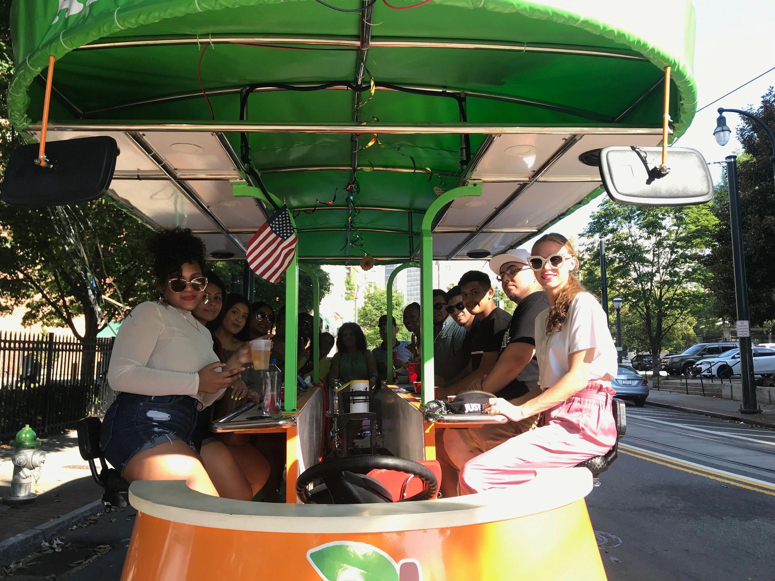 Atlanta Peach Roll - Pedal Tours, Sightseeing Tours, Pedal Pub