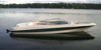 Ski Boats for Rent by Good Nuf Boat Rentals, quality boats at a fair price in the northern Wisconsin Lakeland area.