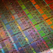 Intel Silicon Wafer