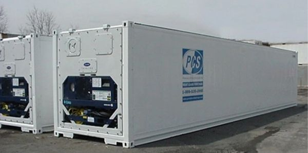 portable cold storage, cold storage pod, refrigerated trailer, reefer container,