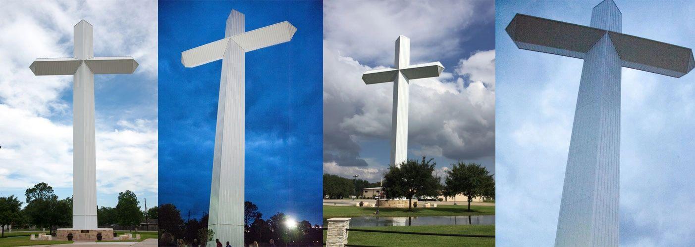 Giant Cross in Tomball - Tomball Texas Cross | Tomball Texas