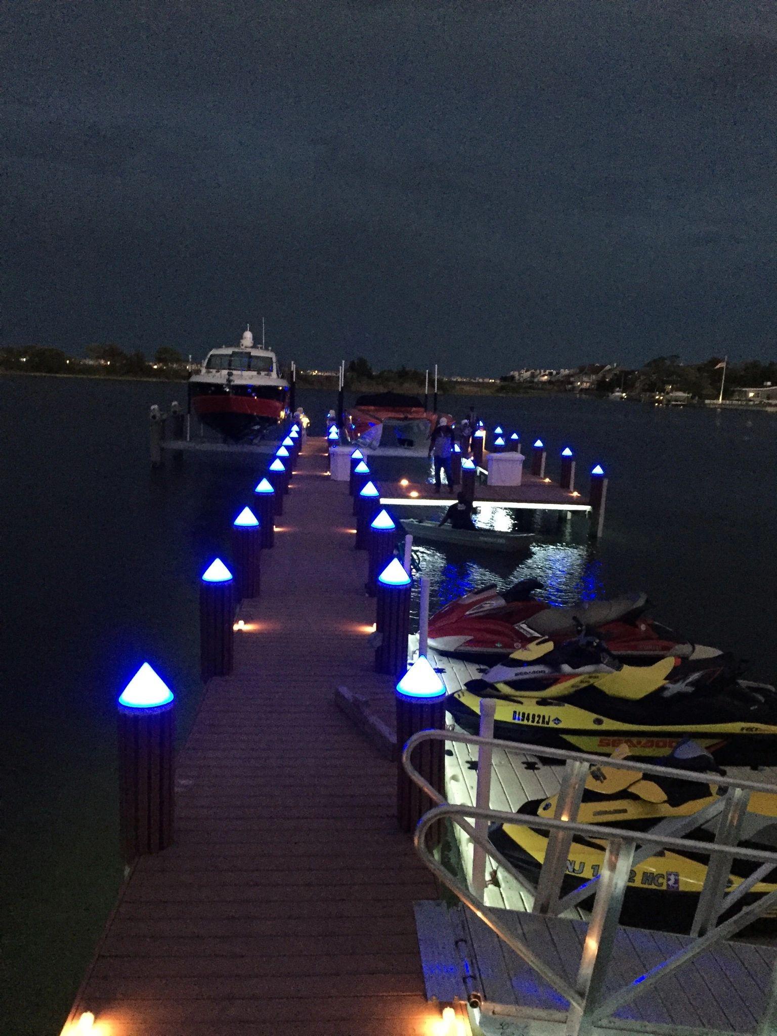 Benfive Lighting Led Dock Piling Lights Outdoor Lighting