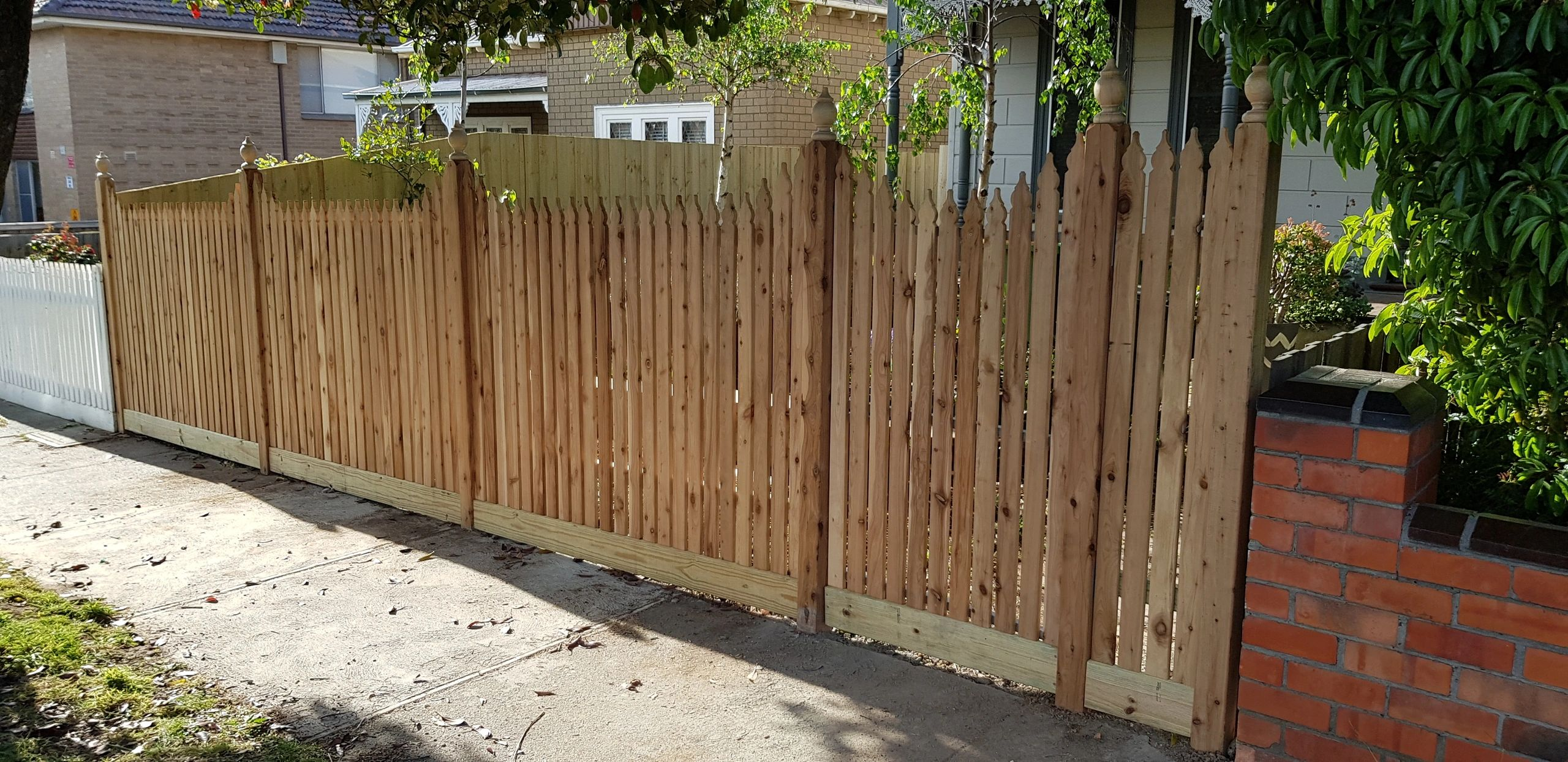 Paling Fence Designs Nps fencing workwithnaturefo
