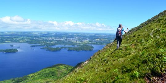 Killarney Mindful Hiking. Walking. Exercise. Health. Well-Being
