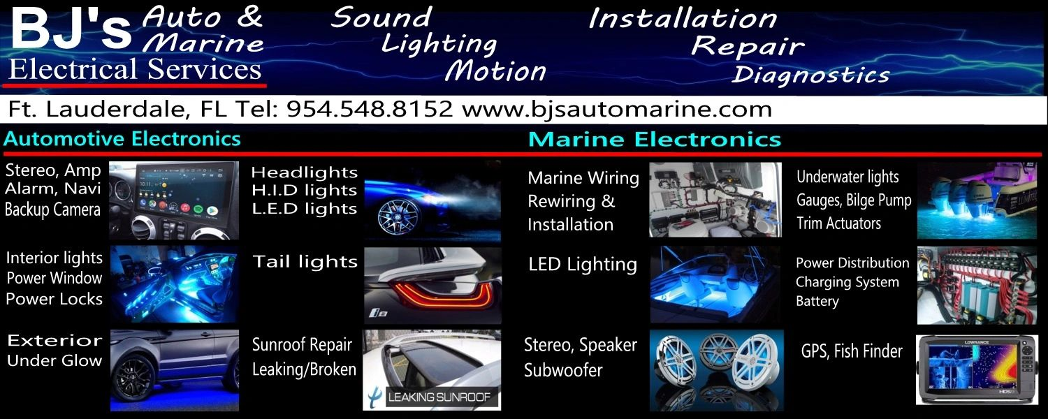 Auto Electrical Repairs and Installation, Marine Electrical