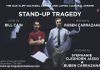 Promotional for Stand-up Tragedy. Photo and design Jeremy Biggers.
